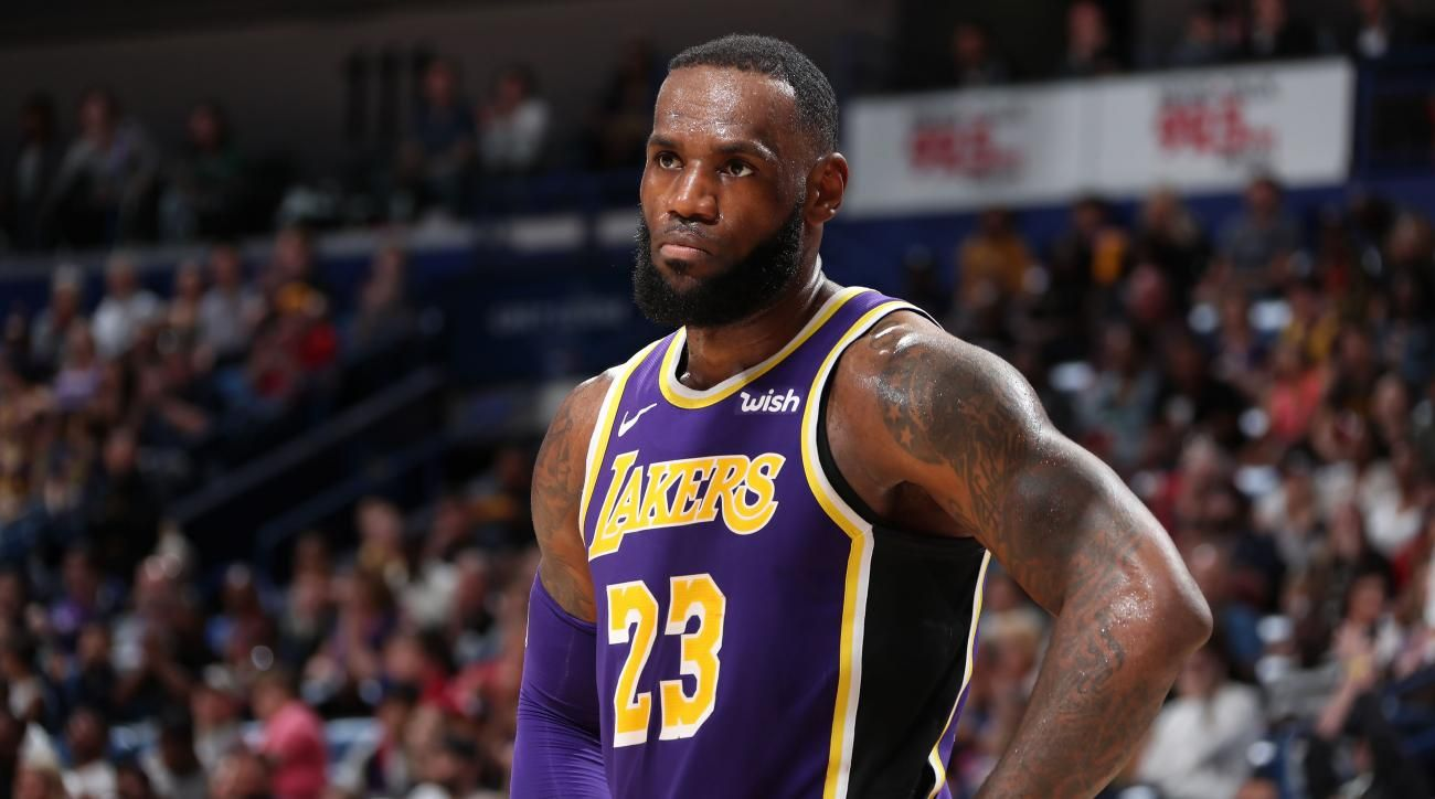 LeBron James flips the content on Lakers and quits being negative: 'I like where we are'