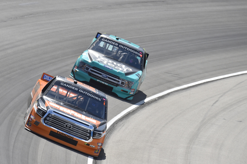 NASCAR Truck Series racer Johnny Sauter suspended for next race