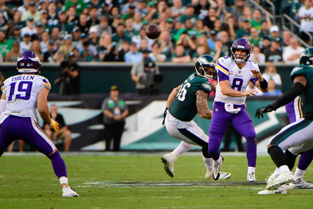 Adam Thielen perceive that Kirk Cousins is the issue in Minnesota