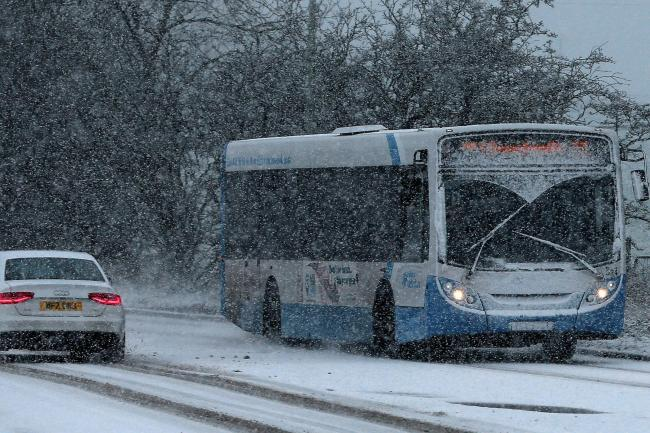 SNOW: Oxford traffic and travel cautioning for Saturday