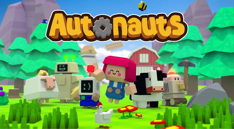 Build your own factory in Autonauts