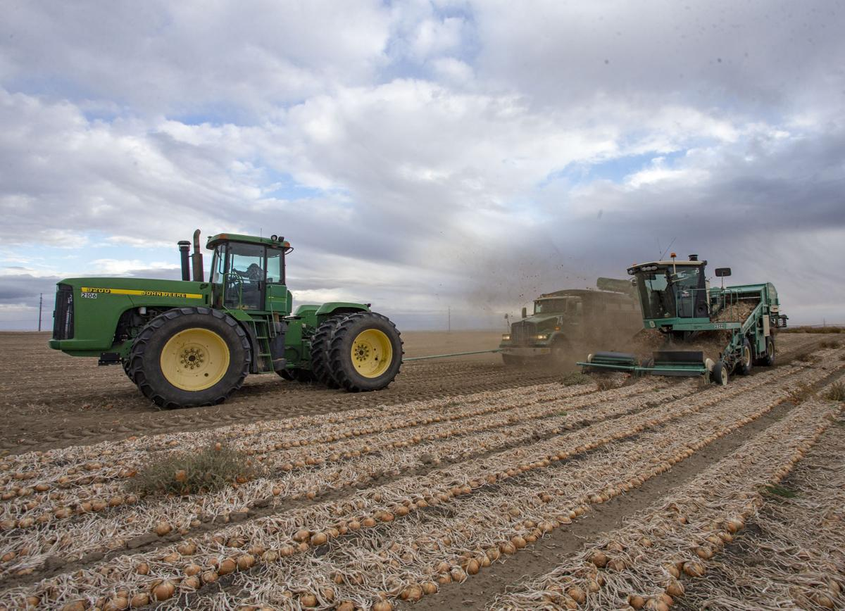 During harvest season  Ranchers remind drivers to watch out for substantial hardware