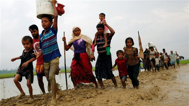 Report says : Bangladesh is purposely blocking Rohingya outcast kids from training