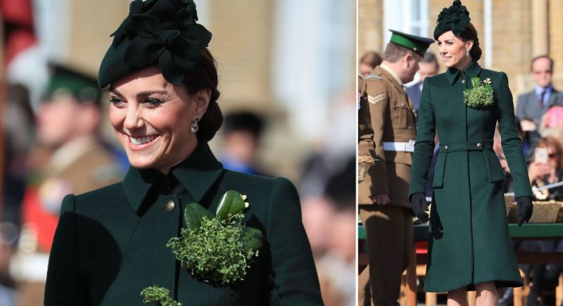 Kate Middleton Puts a Regal Spin on St. Patrick's Day Style