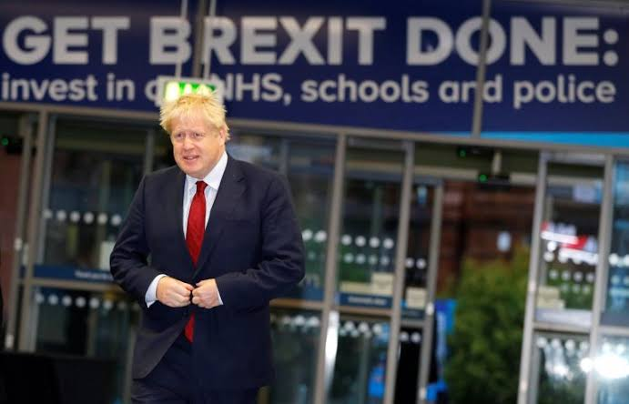 In UK political race Johnson wins 'huge' command for quick Brexit