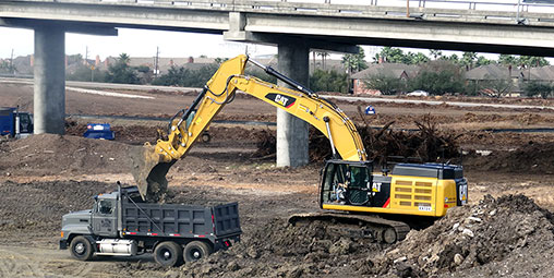 Earthmoving Moving Company Needed For Land Development in Houston