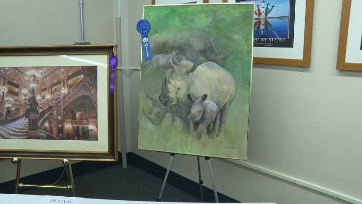 Veterans show off creativity in raising support art appear