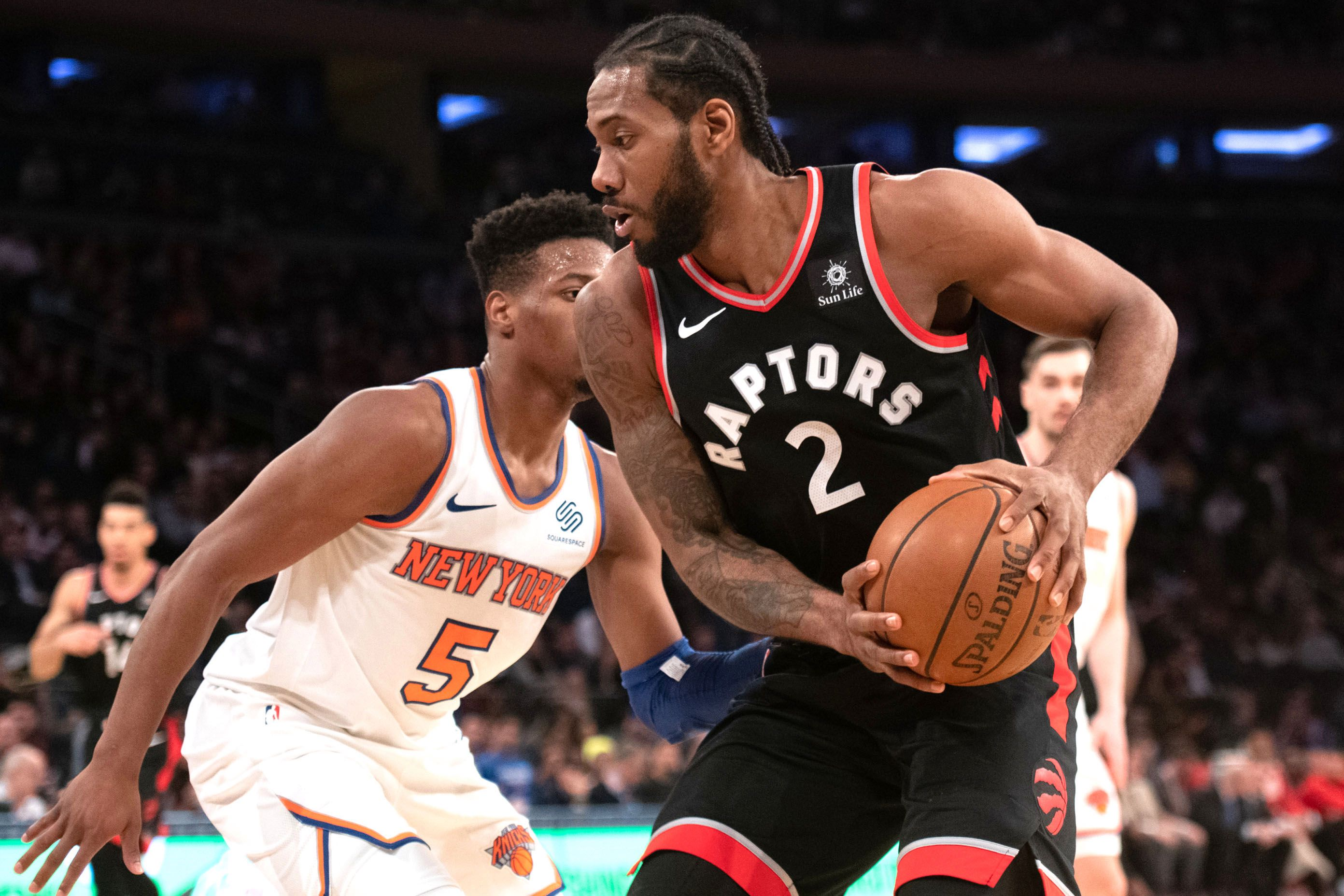 Knicks free-specialist target Kawhi Leonard has meeting set up with Clippers
