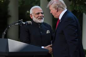 Trump will join Indian prime minister at U.S. rally in coup for Modi