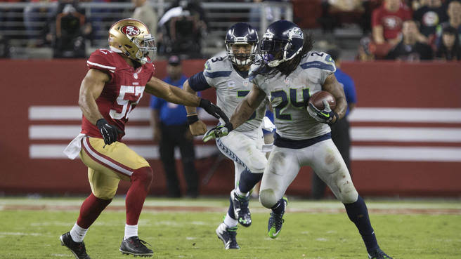 Per their operator , Marshawn Lynch comes back to Seattle for second spell with Seahawks