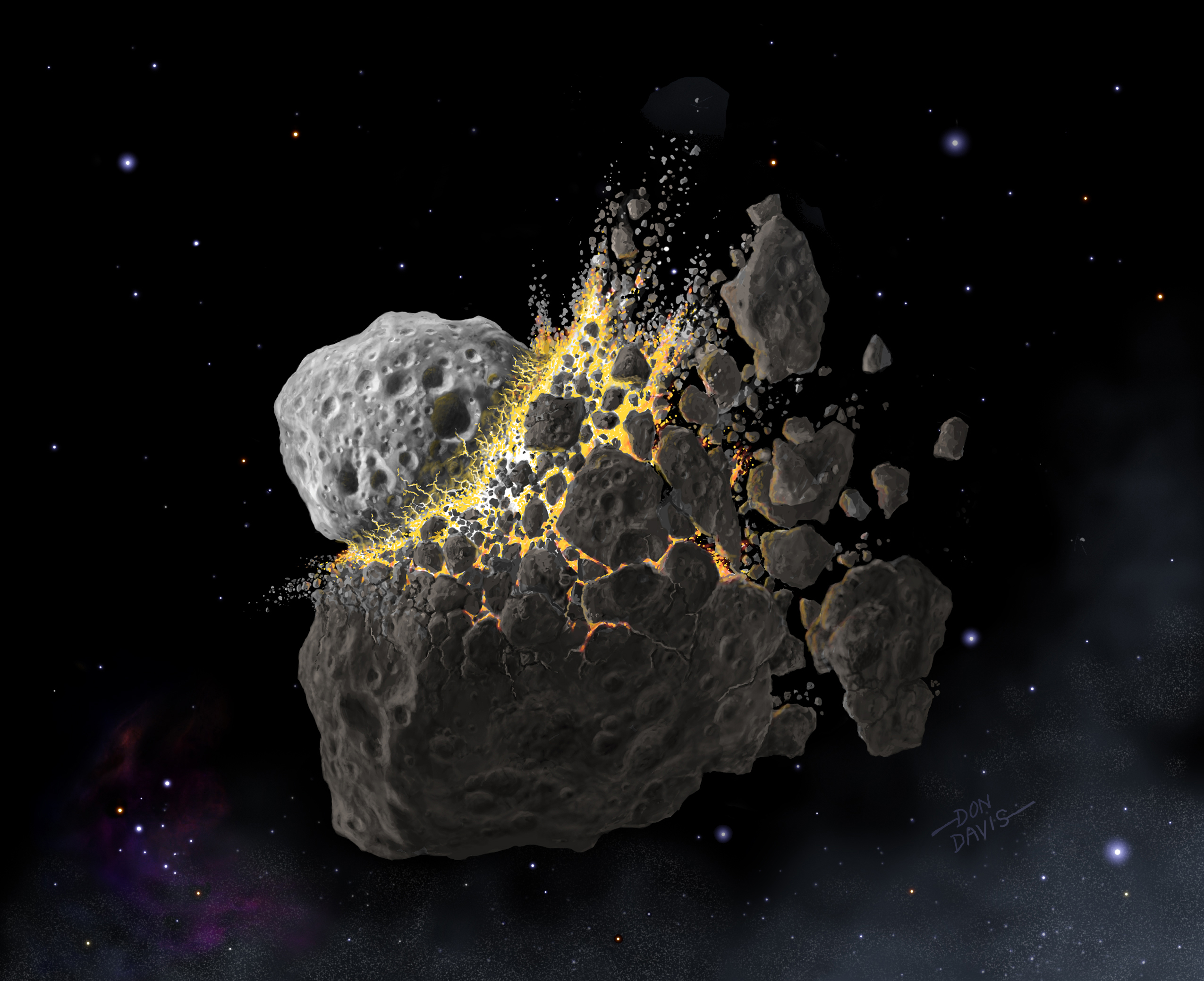 Space rock residue may have activated monstrous blast of existence on Earth 466 million years prior